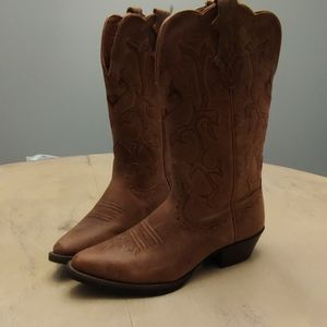 Womens Justin Brown Cowboys Boots